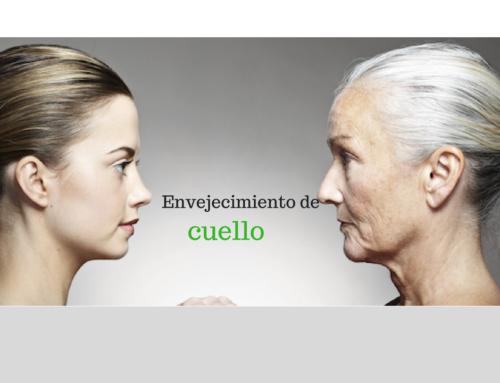 El envejecimiento empieza en el cuello