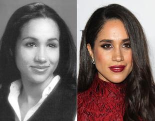 Meghan Merkle antes y despues